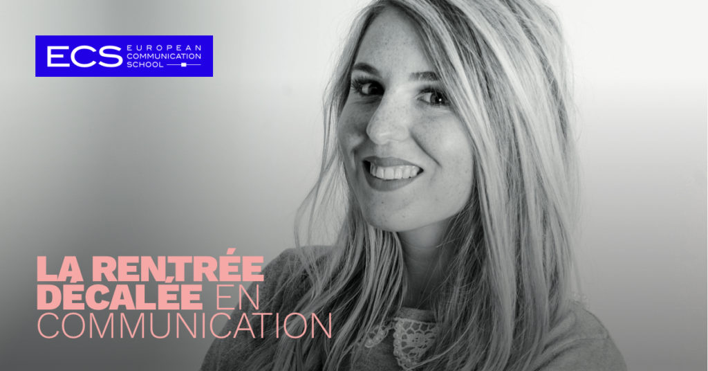 ecs ecole de communication rentree decalee