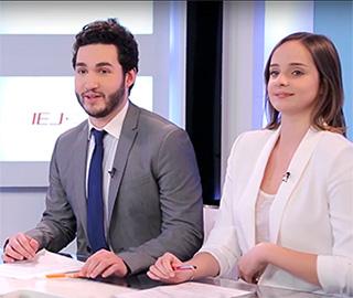 Etudiants en école de Journalisme IEJ