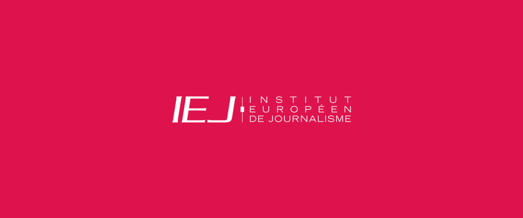 Logo IEJ Institut Europeen de Journalisme (grand format)